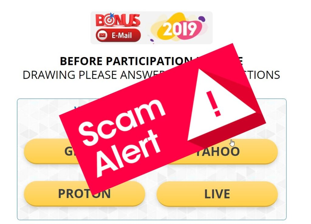 Why Bonus Email 2019 is scam? It's honest review about projekt!